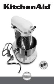Black Kitchenaid Mixer by Kitchenaid Mixer Commercial Mixer User Guide Manualsonline Com