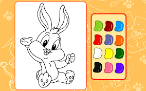 coloring games bunny friends android apps on google play