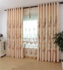 quality embroidery curtains modern chinese style french window