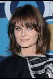 hairstyles for angular faces square face shape haircut with bangs hairstyles pinterest