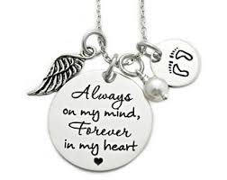 Personalized Memorial Necklace Memorial Jewelry Etsy