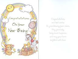 congrats on your new card 25 wonderful new born baby wishes pictures