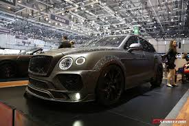 bentley mansory prices geneva 2017 mansory bentley bentayga black edition gtspirit
