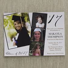 personalized photo graduation invitations refined graduate