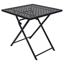 Target Threshold Patio Furniture Woven Metal Folding Patio Table Threshold Target