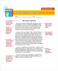 biography example an example of an autobiography 17 example of