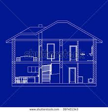 blueprints for houses house blueprint stock images royalty free images vectors