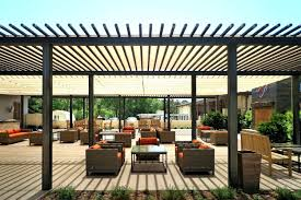 patio ideas patio structures for shade exteriors outdoor metal