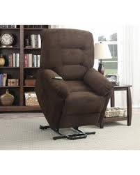 coaster chenille glider and ottoman in chocolate deals on coaster company chocolate brown textured chenille power