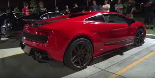 toyota supra 2016 1 700 hp lamborghini races 1 500 hp supra on the street gets