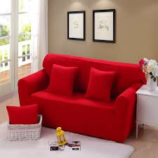 Canvas Sofa Slipcover Online Get Cheap Red Sofa Slipcover Aliexpress Com Alibaba Group