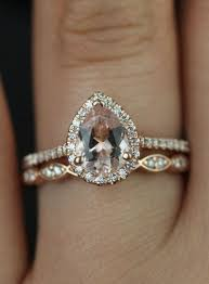 morganite gold engagement ring 15 stunning gold wedding engagement rings that melt your heart