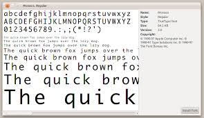 How To Install Center Jump How To Install Otf Fonts Ask Ubuntu