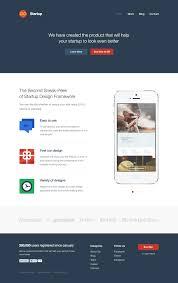 start bootstrap startup framework templates by designmodo