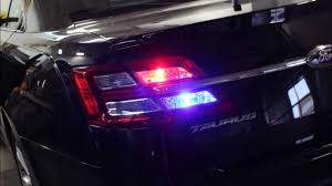 2014 ford taurus tail light 2013 ford taurus undercover emergency vehicle youtube