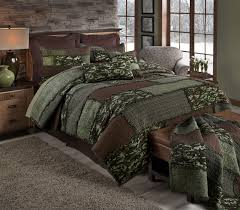 Camo Bedroom Camo Cobblestone Quilted Bedding Collection