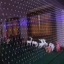 outdoor christmas lights for bushes christmas outdoor net lights make your evenings fun classic and