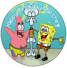 spongebob cake toppers spongebob cake topper