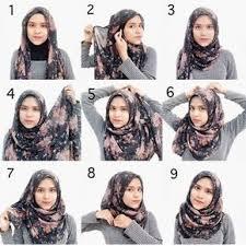 simple hijab styles tutorial segi empat tutorial hijab segi empat simple model untuk di contoh pinterest