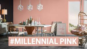 colors we love millennial pink sherwin williams youtube