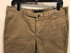 cotton blend khakis chinos incotex pants for men ebay