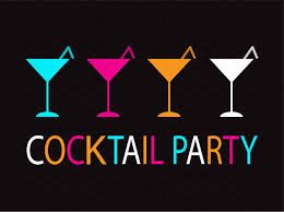 collection of cocktail party neon il illustrations creative market