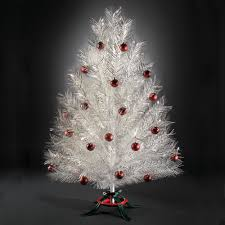 Thomas Kinkade Christmas Tree For Sale by The Classic Aluminum Christmas Tree Hammacher Schlemmer