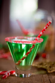 a candy cane christmas cocktail party christmas cocktails