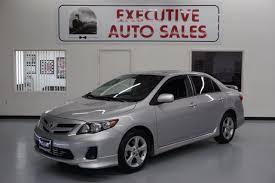 2012 toyota corolla s for sale 2012 toyota corolla s 4dr sedan 4a in fresno ca executive auto