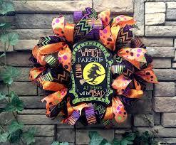 halloween wreaths burlap halloween wreath witch wreath burlap
