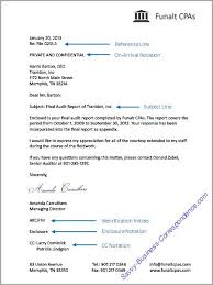 ideas of sample business letter format with subject line with
