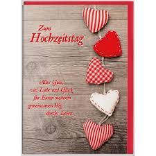 zum hochzeitstag glückwunschkarte zum hochzeitstag liebe und glück