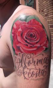 33 best red rose tattoo images on pinterest flowers beautiful