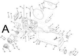 Ridgid Table Saw Parts Ridgid Ts24000 Parts List And Diagram Ereplacementparts Com