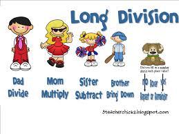 class blog long division