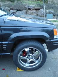 totaled jeep grand cherokee fiveninejeep 1998 jeep grand cherokee5 9 limited sport utility 4d