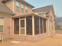 screened porch addition progressional photos