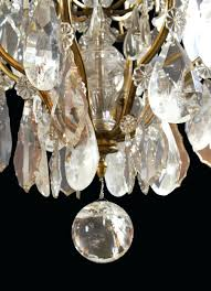 Shabby Chic White Chandelier Rock Crystal Chandelier U2013 Engageri