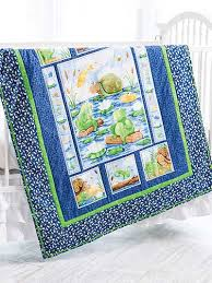 bed crib quilt patterns panel quilt pattern