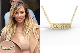 gold name bar necklace personalized boutique inc style