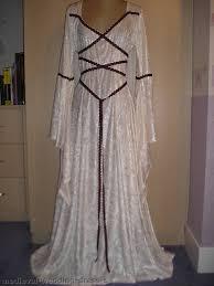 Medieval Wedding Dresses Uk Uk Maid Marian Medieval Pagan Wedding Dress Hand Fasting Laced