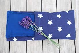 Blue Flag With Stars Eye Pillow Blue With White Stars Yogathings