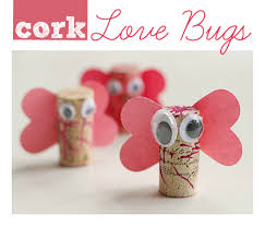 cork bugs s day craft no time for flash cards