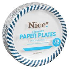 paper plates everyday paper plates 8 5 8in 8 5 8in walgreens