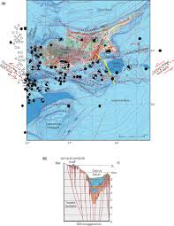 Map Of Cyprus A Map Of Neotectonic Faults On And Surrounding Cyprus
