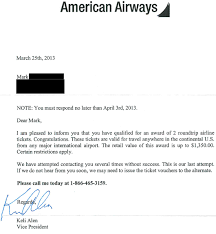 Letter Of Credit Validity american airways free ticket giveaway scam