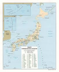 Map Of Japan Blank by