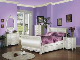 modern teenage bedroom with white wooden platform bed full size 6