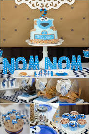 cookie monster table decorations cookie monster baby shower decorations baby shower invitations