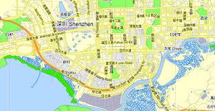 printable maps hong kong hong kong shenzhen china printable vector map adobe illustrator
